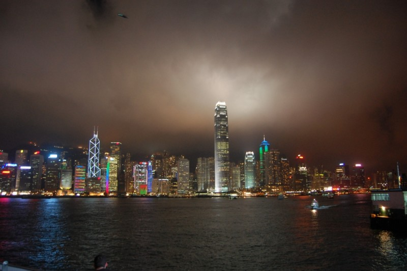 Hong Kong Island from Kowloon