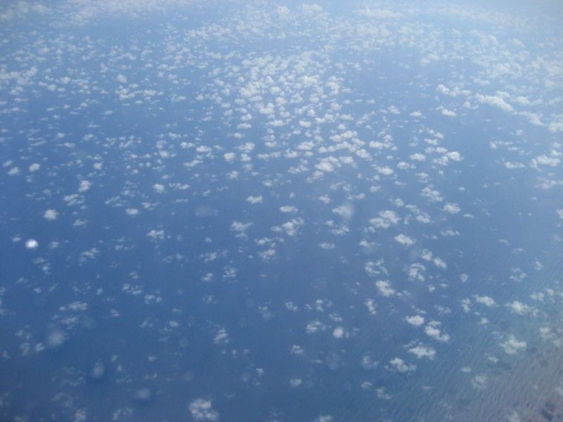 Clouds over the Pacific
