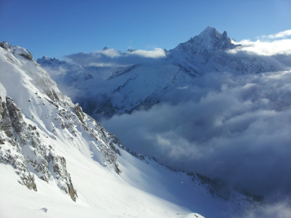 The view from Flegere, Chamonix, France