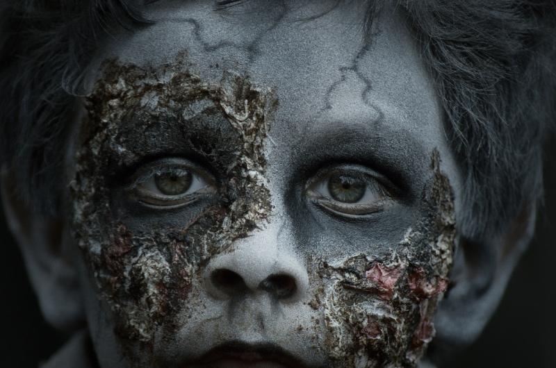 zombie walk mexico 2011