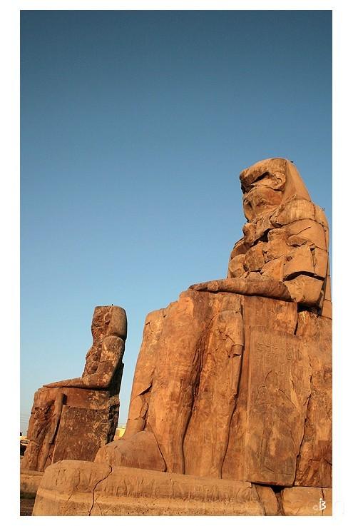 Gardiens du temple d'Amenhotep III