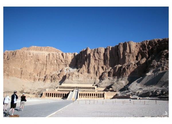Le temple d'Hatschepsout à Deir el-Bahari