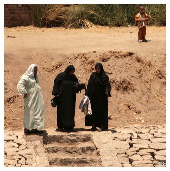 Les gens du bord du Nil