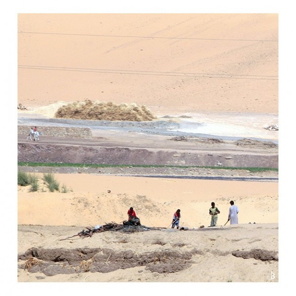 Les gens du bord du Nil...
