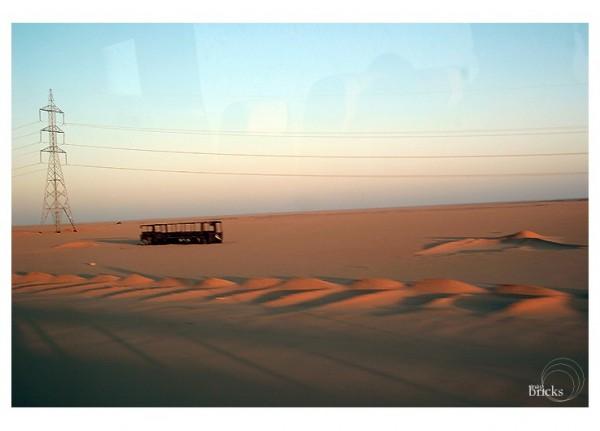 La traversée du désert...