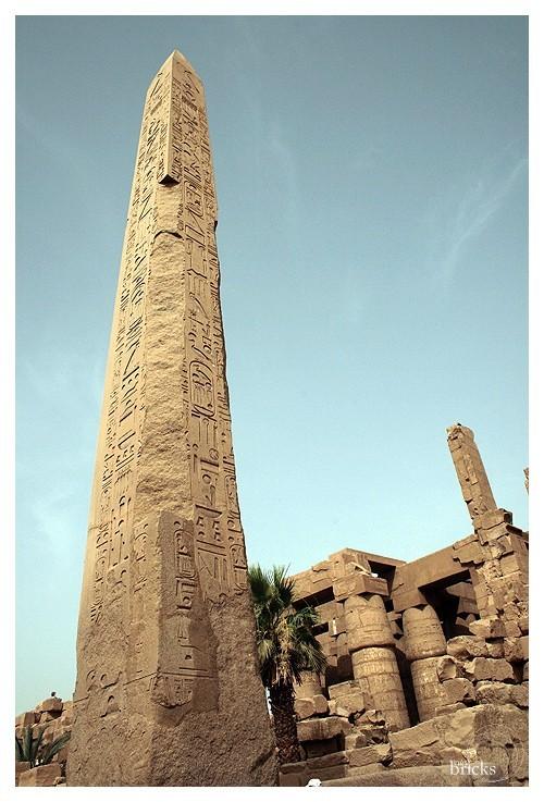L'obélisque, Karnak