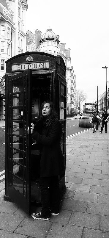 Camille in London - First time