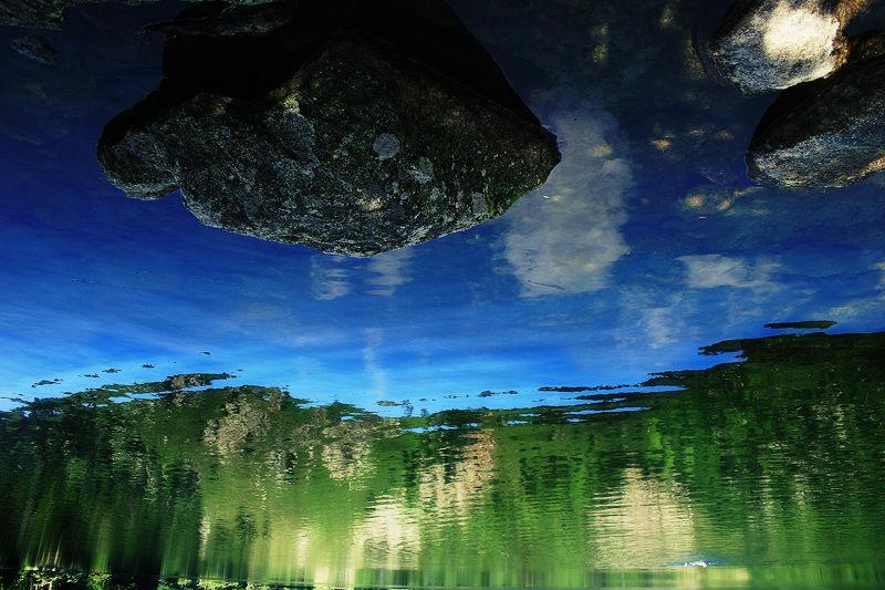 Le lac aux mille visages.