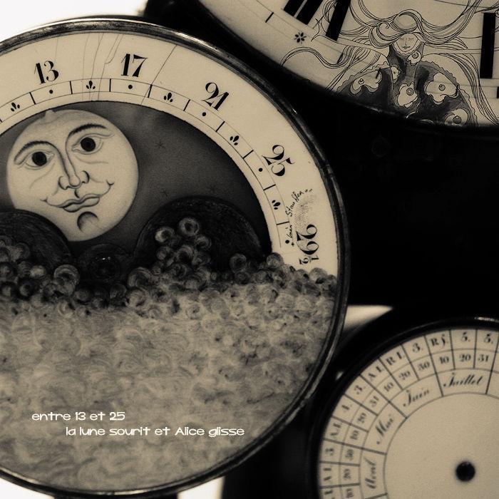 Lorsque la lune sourit Alice glisse !