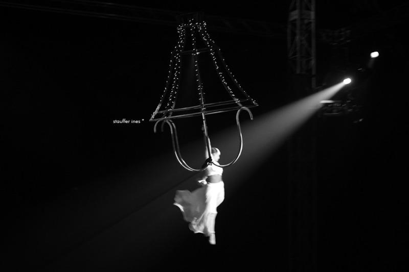 Danser avec la lumière