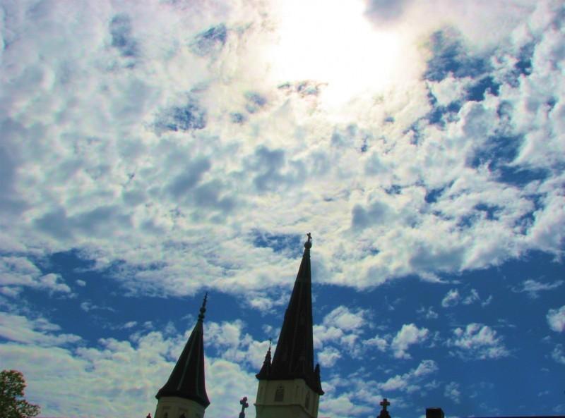 A church in the clouds