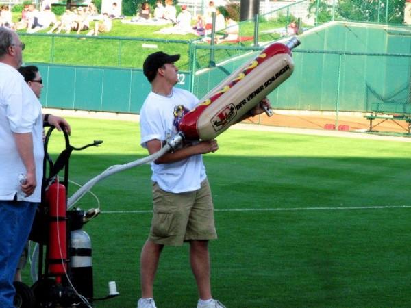 Baseball Game 2/3 The Schlinger