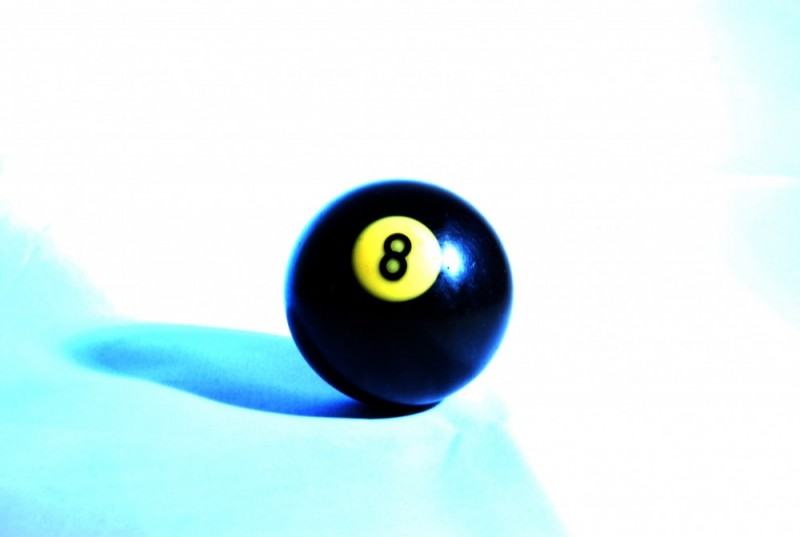 Stock Photography-8 Ball