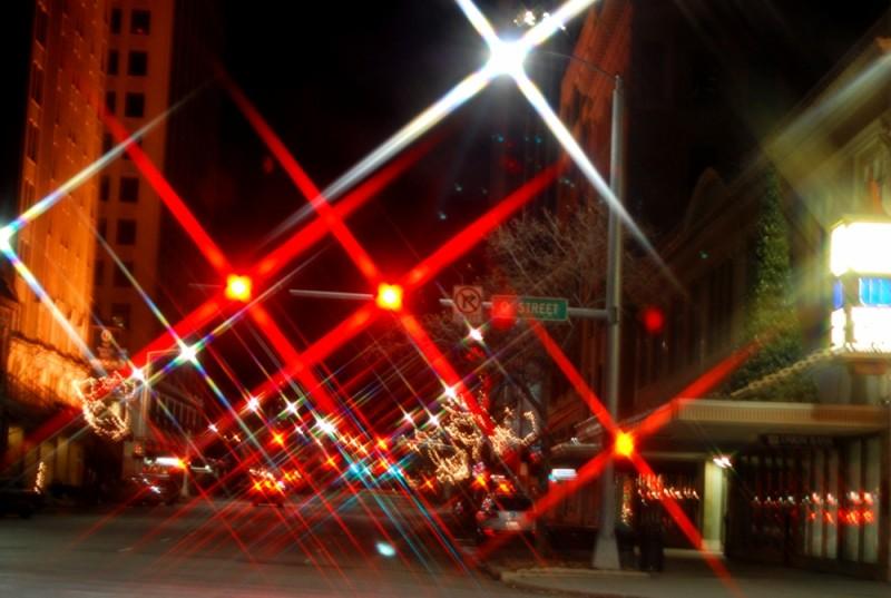 Nighttime on O Street