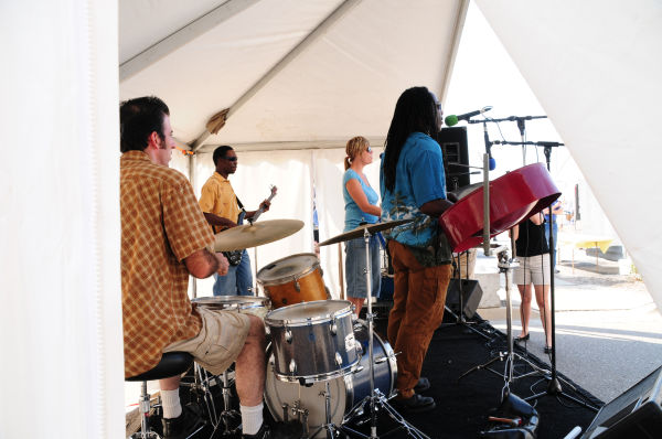 the Executive Steel Drum Band