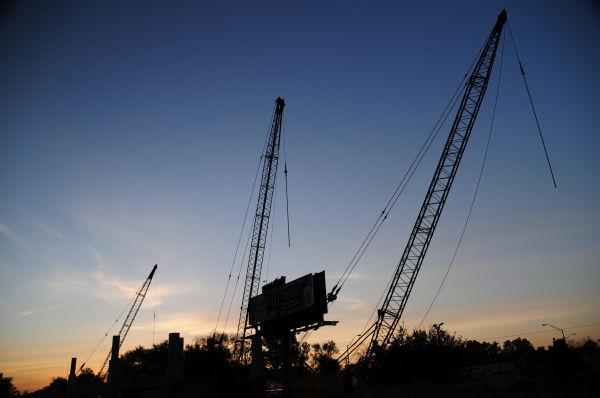 Cranes On The Horizon