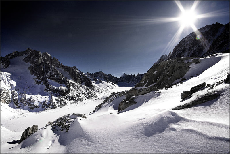 Chamonix-Mont-Blanc Valley Serie : High Atmosphere