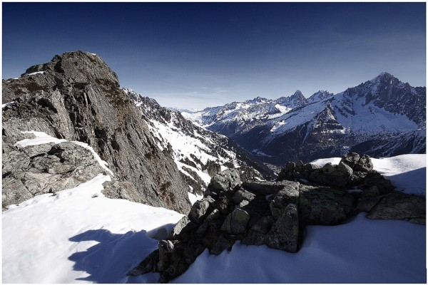 Chamonix-Mont-Blanc Valley Serie : Ridge