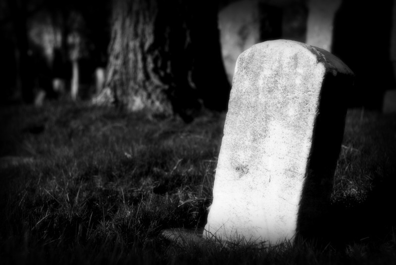 Small tombstone