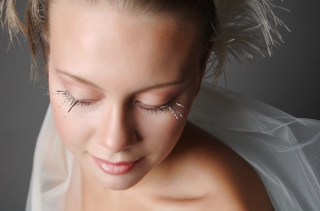 feathered eyelashes