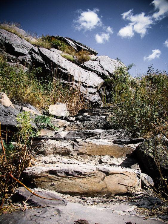 Semi-natural stairs!