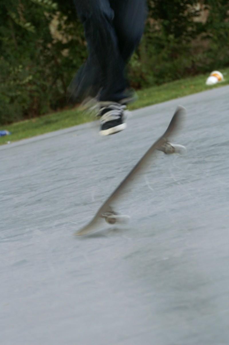 skate park trick