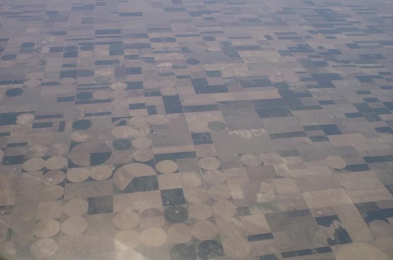 patchwork farmland