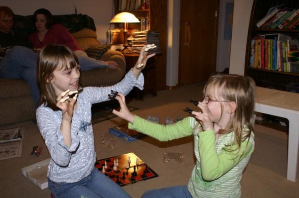 finger pawn battle