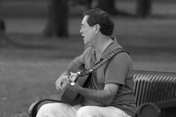 park musician