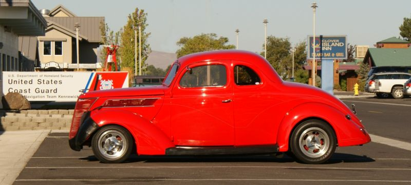"""""""red hot"""" hot rod"""