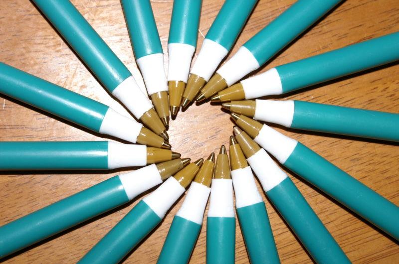 pen tip spiral