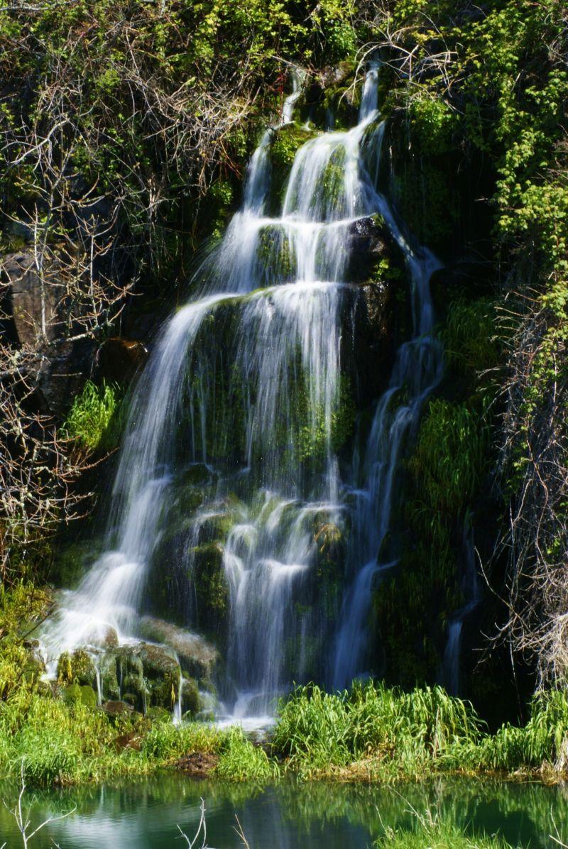 slow flow waterfall