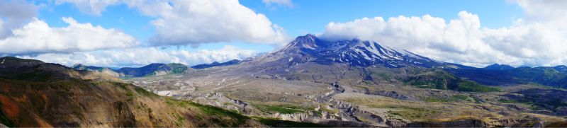 Mount St. Helens panoramic
