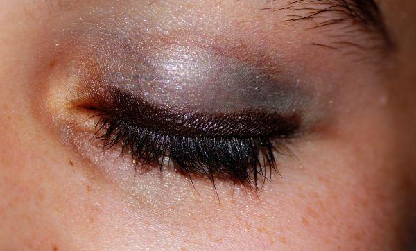 colourful eyelid