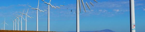 broken wind turbines