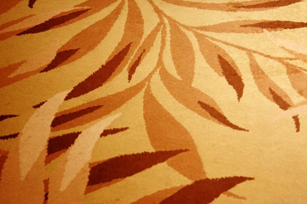 leafy carpet