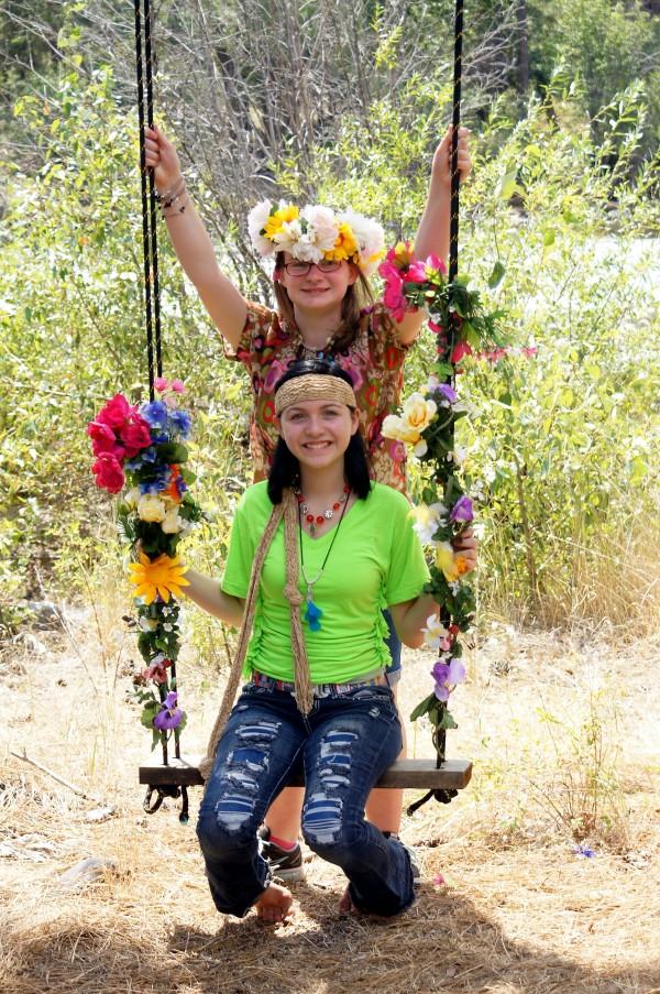 swinging hippies