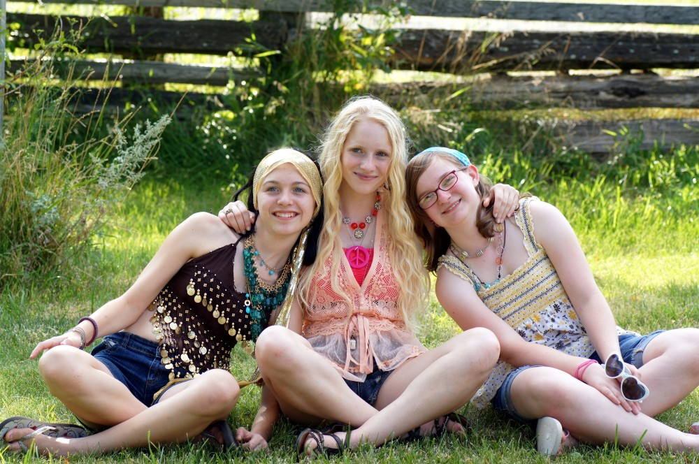 hippie chicks