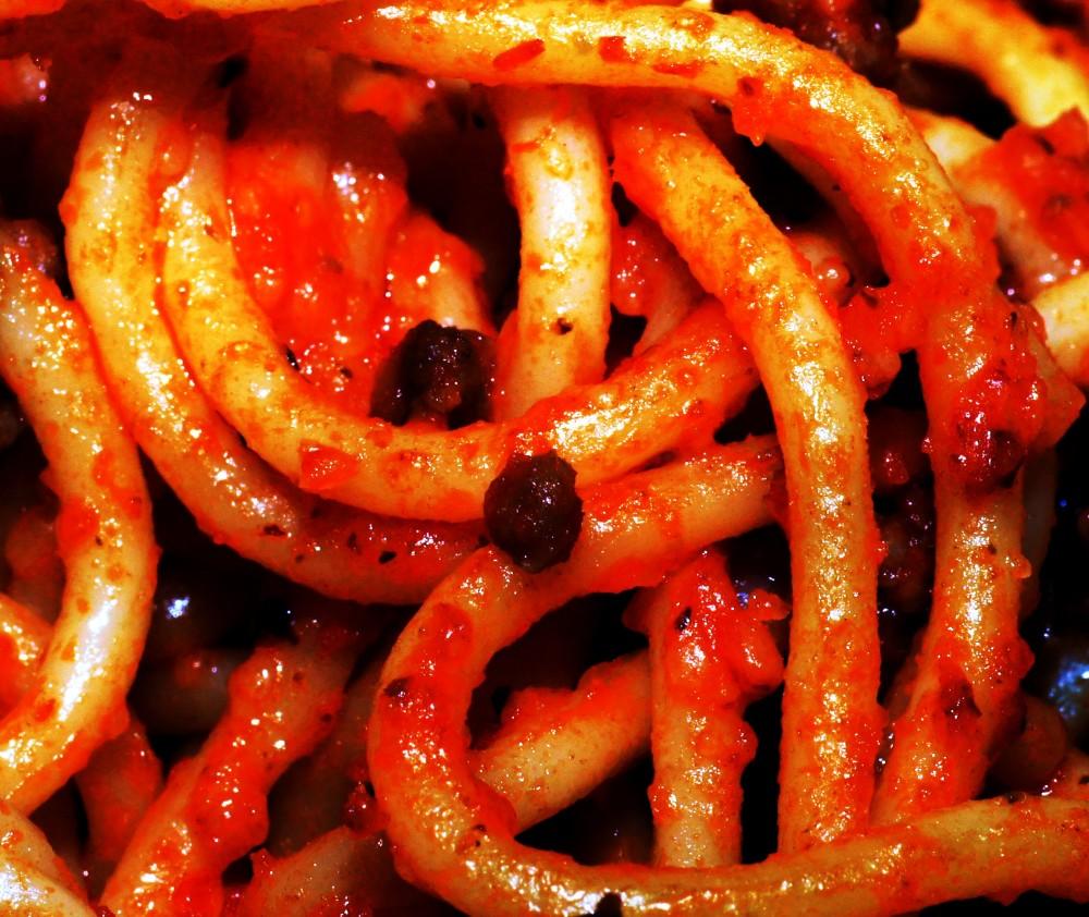 blood pasta