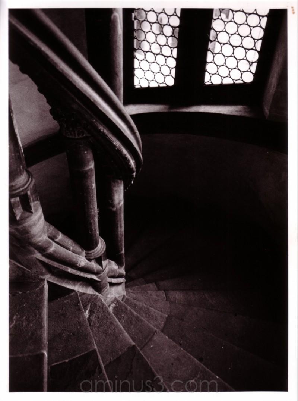 stone stairwell
