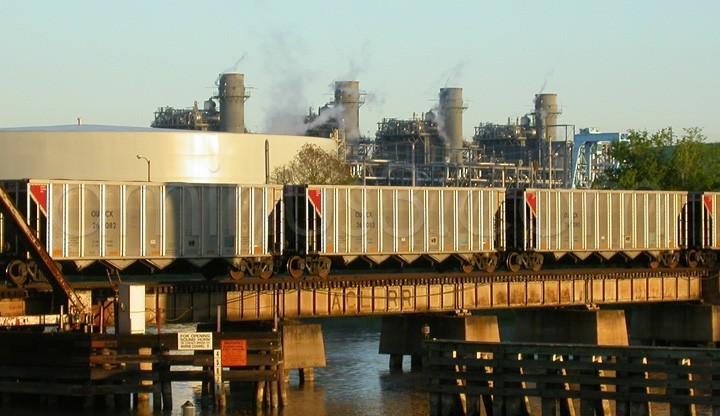 Trains and Smoke Stacks