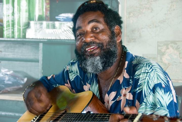 Guitar Man - Anegada, BVI