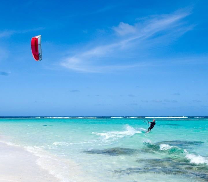 Anegada, BVI - Taking the Red Kite Out