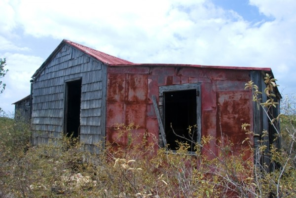 Anegada, BVI - Abandoned Home - Exterior