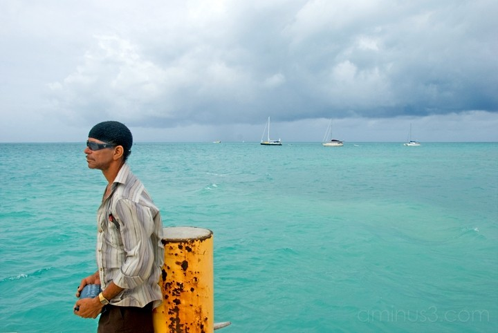 Anegada, BVI - Waiting Under A Hostile Sky