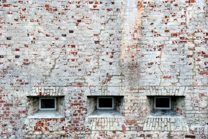 Fort Macon - Brick Wall