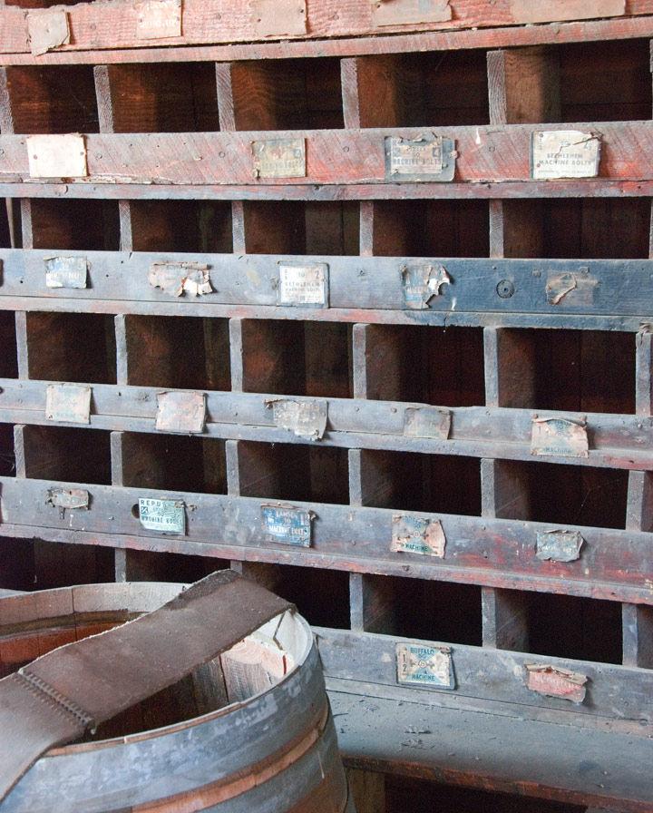 Blacksmith Drawers