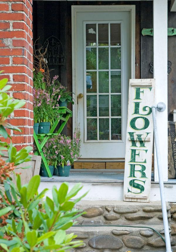 Doorway # 1 - Flower Shop