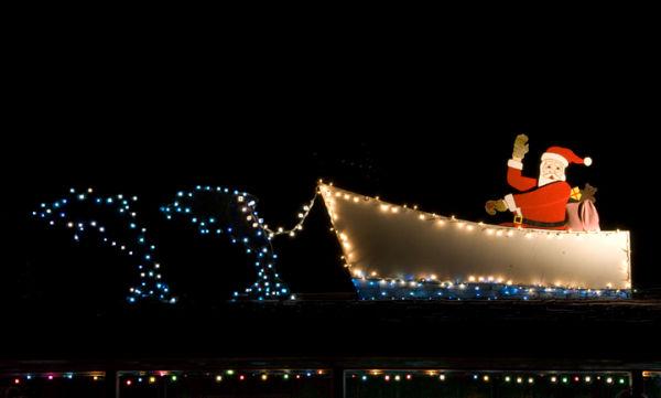 Ocracoke Christmas Impression # 1