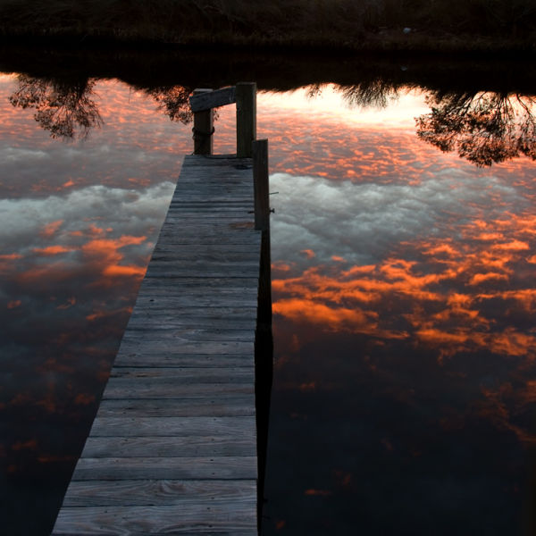 Dock at Sunset